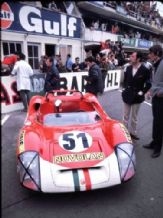 Le Mans 1969 Abarth 1000sp Locatelli-Zanetti